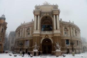 На завтра в Одессе и области прогнозируют еще один снегопад