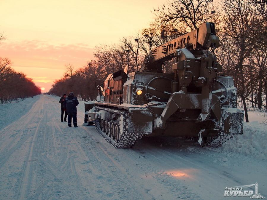 Проезд транспорта открыт от Одессы до Рени