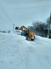 Как горожане Килию от снега очищали (ФОТО)