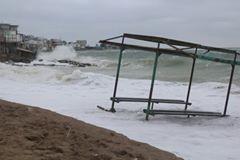 В Черноморске серьезные проблемы с прибрежной зоной (ФОТО)