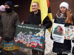 В Одессе водрузили флаг Украины на консульство России (ФОТО, ВИДЕО)