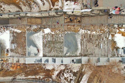 Проблема одесской Потемкинской лестницы может быть и-за забившейся ливневой канализации