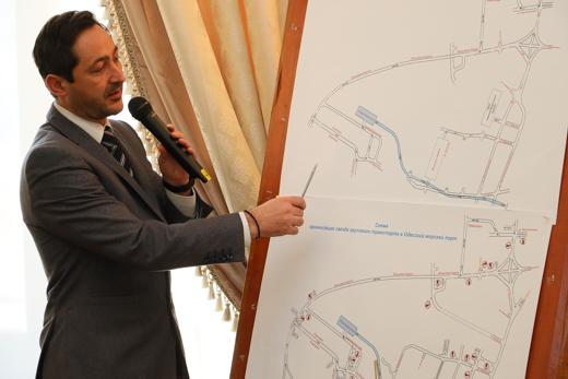 Мэр Одессы и и.о. главы ГП АМПУ Райвис Вецкаганс обсудили взаимодействие города и порта