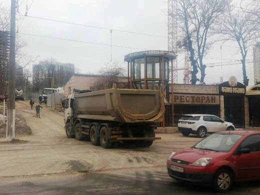 В Одессе проводятся рейды по выявлению нарушений на стройках города