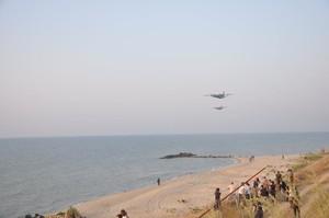 Российский боевой корабль обстрелял украинский военно-транспортный самолет
