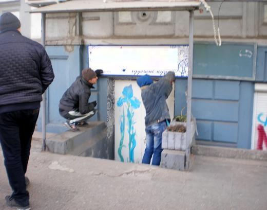 В Одессе за неделю демонтировали почти сотню рекламных конструкций, размещенных с нарушениями