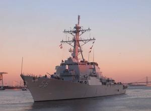 В Одессу прибудет американский ракетный эсминец