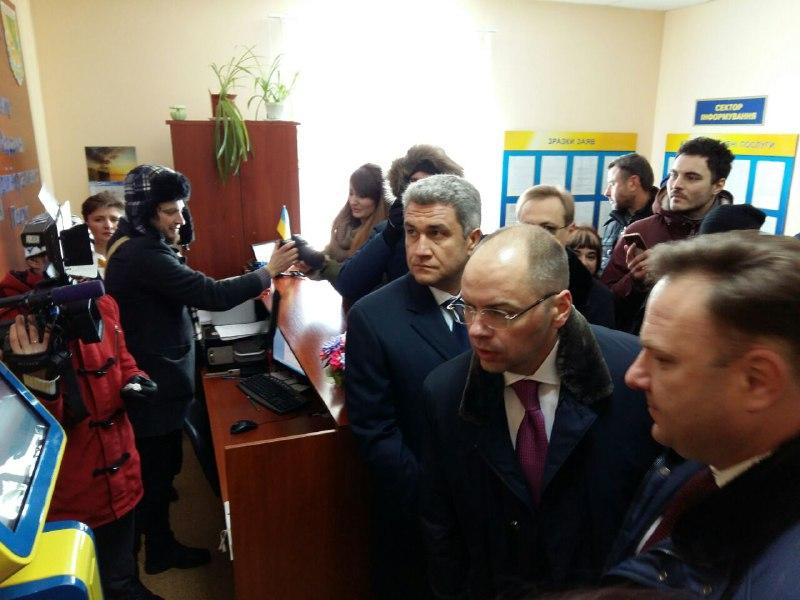 Одесский губернатор провел инспекцию работы Кодымского центра оказания админуслуг