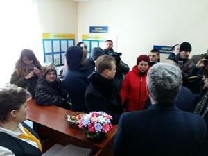 Одесский губернатор провел инспекцию работы Кодымского центра оказания админуслуг (ФОТО)
