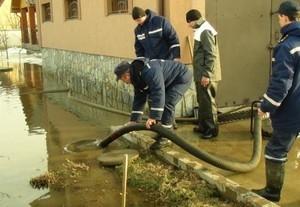 В Болграде подтоплены жилые дома