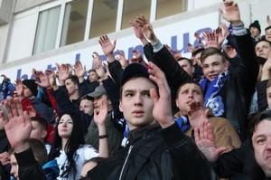 Одесские ультрас на матче Черноморец - Карпаты (ФОТО, ВИДЕО)