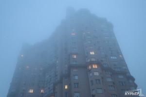 """В международном аэропорту """"Одесса"""" из-за сильного тумана изменен график приема и отправки самолетов"""