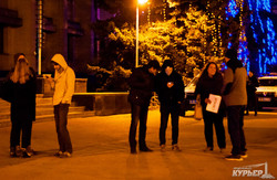 В Одессе митинговали против силового разгона блокады ОРДЛО (ФОТО)