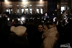 Митинг под стенами Одесской ОГА: Степанов, выходи или мы перекроем проспект Шевченко (ФОТО, ВИДЕО)