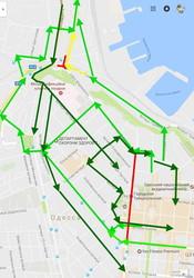В центре Одессы изменяется схема движения автобусных маршрутов (СХЕМЫ)
