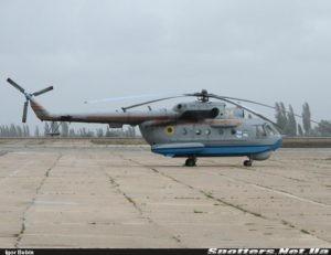 Конотопский авиаремонтный завод отремонтирует вертолет Ми-14ПС