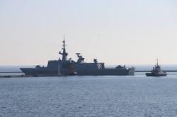 В Одессу вошли турецкие боевые корабли