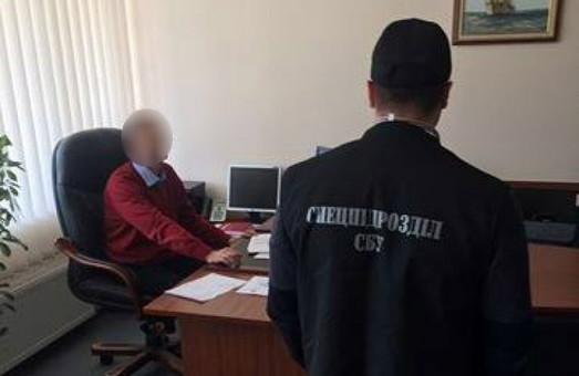 Заместитель начальника Одесской таможне задержан при получении взятки