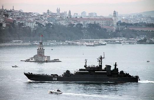 Турция закрыла пролив Босфор для российского флота
