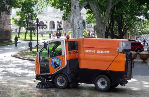 Одесская мэрия намерена купить швейцарские уборочные машины на 89 миллионов