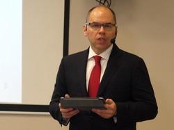 Степанов отчитывается за первые 100 дней своей работы в Одесской области (ФОТО)
