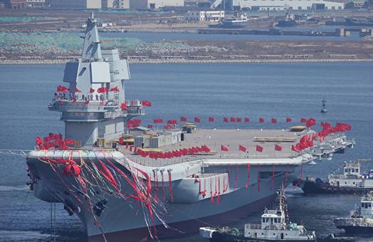Китай спустил на воду свой второй авианосец (ФОТО)