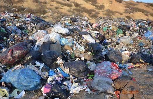 На одесской свалке за бюджетный счет построят комплекс дегазации мусора