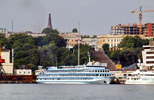 """Одессу посетил круизный лайнер """"Принцесса Днепра"""""""