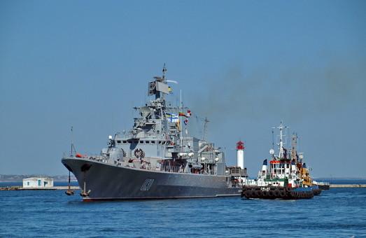 Ремонт флагмана ВМС Украины на заводе под Одессой оказался некачественным