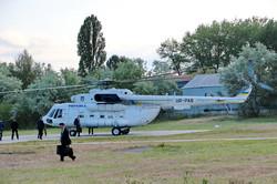 Как Порошенко на вертолете над Одесской областью летал (ФОТО, ВИДЕО)