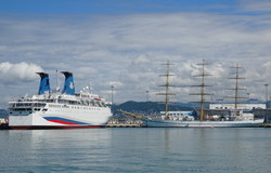 Россия запускает морские круизы из Сочи в оккупированный Крым на лайнере 1975 года постройки