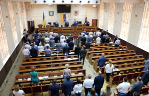 Одесский облсовет не принял повестку дня и объявил перерыв на сессии (ФОТО)