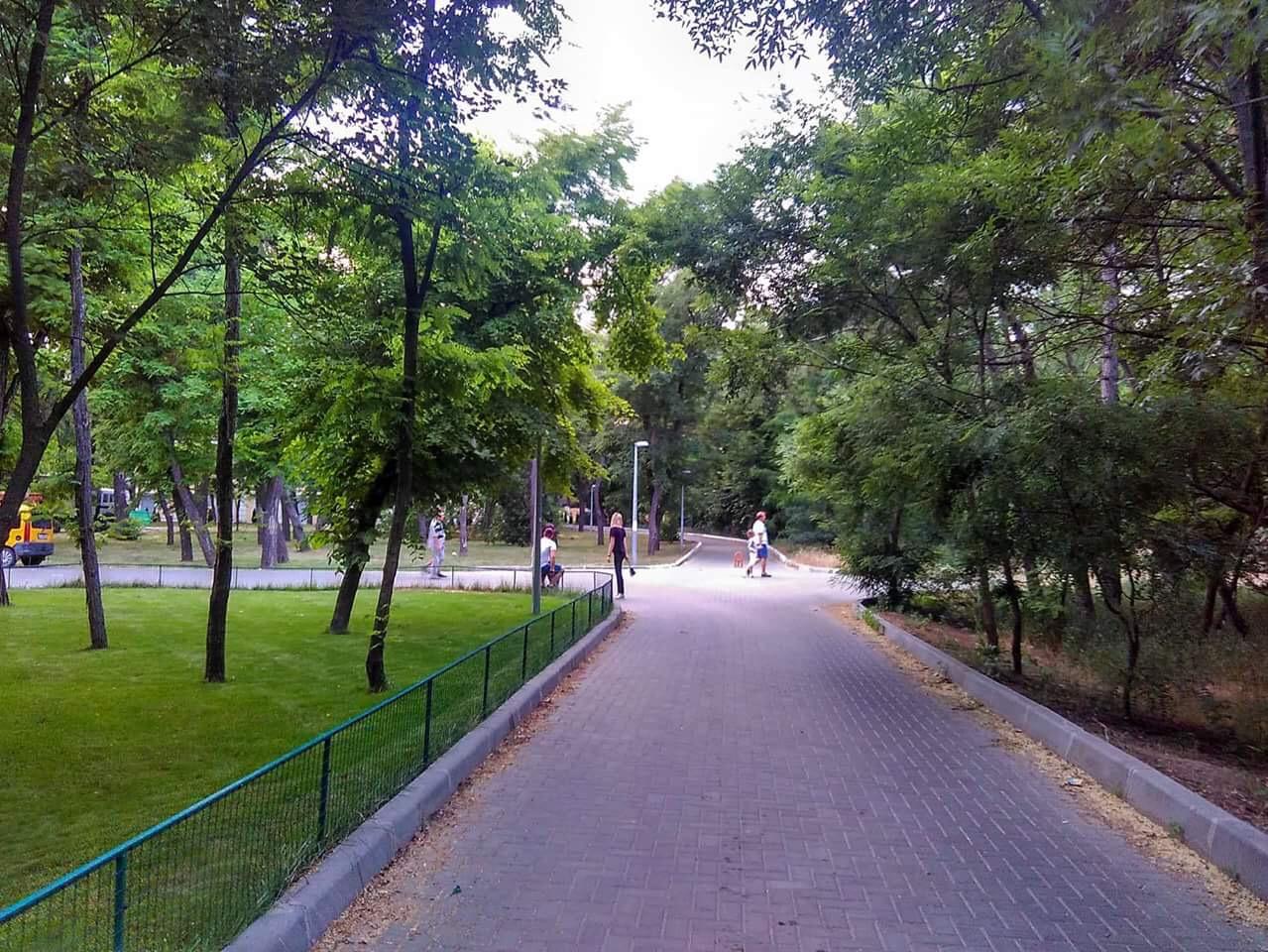 его парк шевченко одесса фото сказочные пейзажи находится