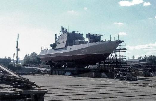 В Киеве почти готов новый бронекатер для ВМС Украины (ФОТО)