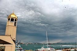 Фантастическое небо над Одесским заливом (ФОТО)