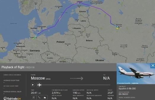 Паранойя Путина прогрессирует: он летит к Трампу, петляя над Балтикой