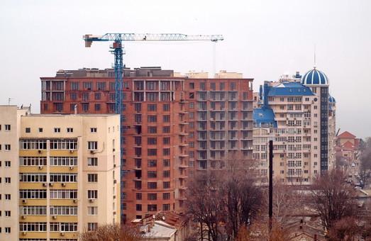 В Одессе незаконно строится 45 многоквартирных домов в частном секторе