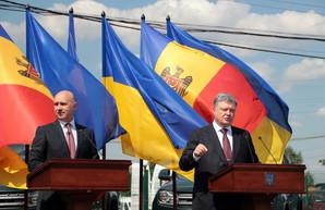 Петр Порошенко и Павел Филат открыли совместный контроль на украино-молдавской границе в Одесской области (ФОТО)