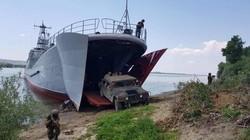 Си-Бриз-2017: десант на Дунае (ФОТО)