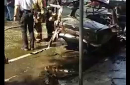 В центре Одессы взорвался автомобиль (ФОТО, ВИДЕО)