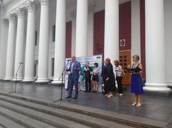 В Одессу прибыл велопробег в честь юбилея дружбы Украины и Кореи (ФОТО)