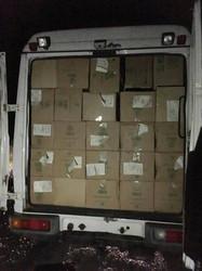 В Одесской области снова вскрыли крупную контрабанду сигарет