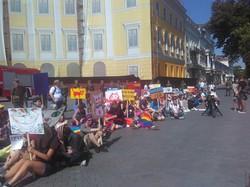 Марш равенства в Одессе: полицейских пришло больше всех (ФОТО)