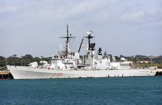 Итальянский ракетный эсминец Durand de la Penne зайдет в Одесский порт