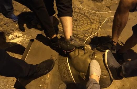 В День Независимости в Одессе воевали с незаконным памятником маршалу Жукову
