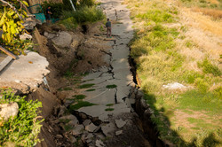 В селе, где недавно сошёл оползень, будут строить канализацию за 28 миллионов (ФОТО)