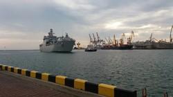 В Одессу прибыл десантный корабль ВМФ Турции