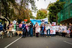 В Одессе маршировали в защиту животных (ФОТО)