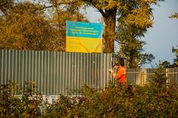 Одесскую Колоннаду консервируют на зиму (ФОТО)