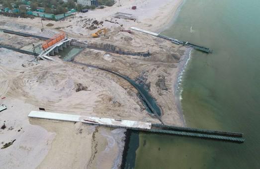 Канал из Черного моря в Тилигульский лиман на границе Одесской и Николаевской областей строится с опозданием (ФОТО)
